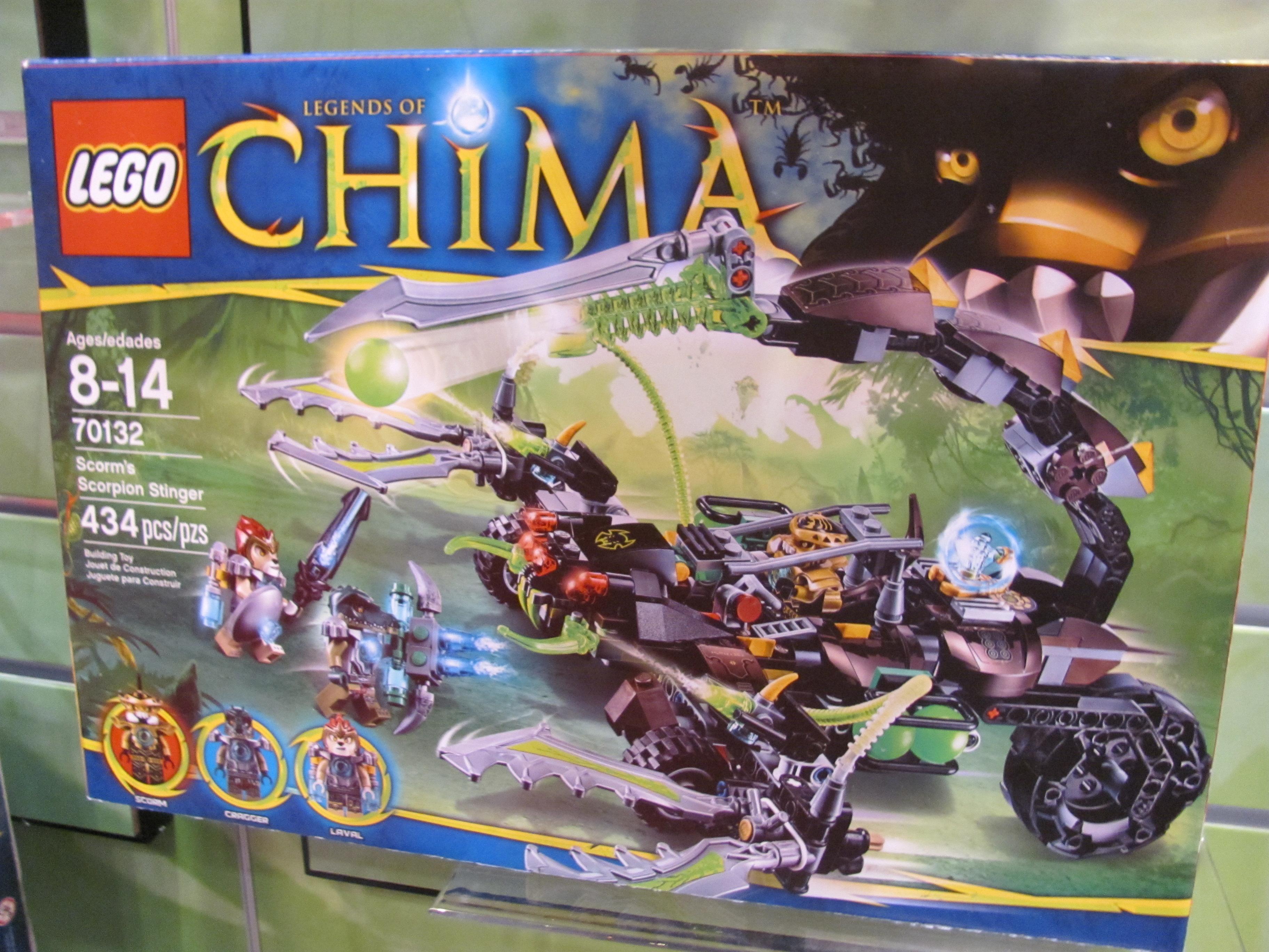 Lego Legends of Chima Scorm's Scorpion Stinger by Purple Pawn