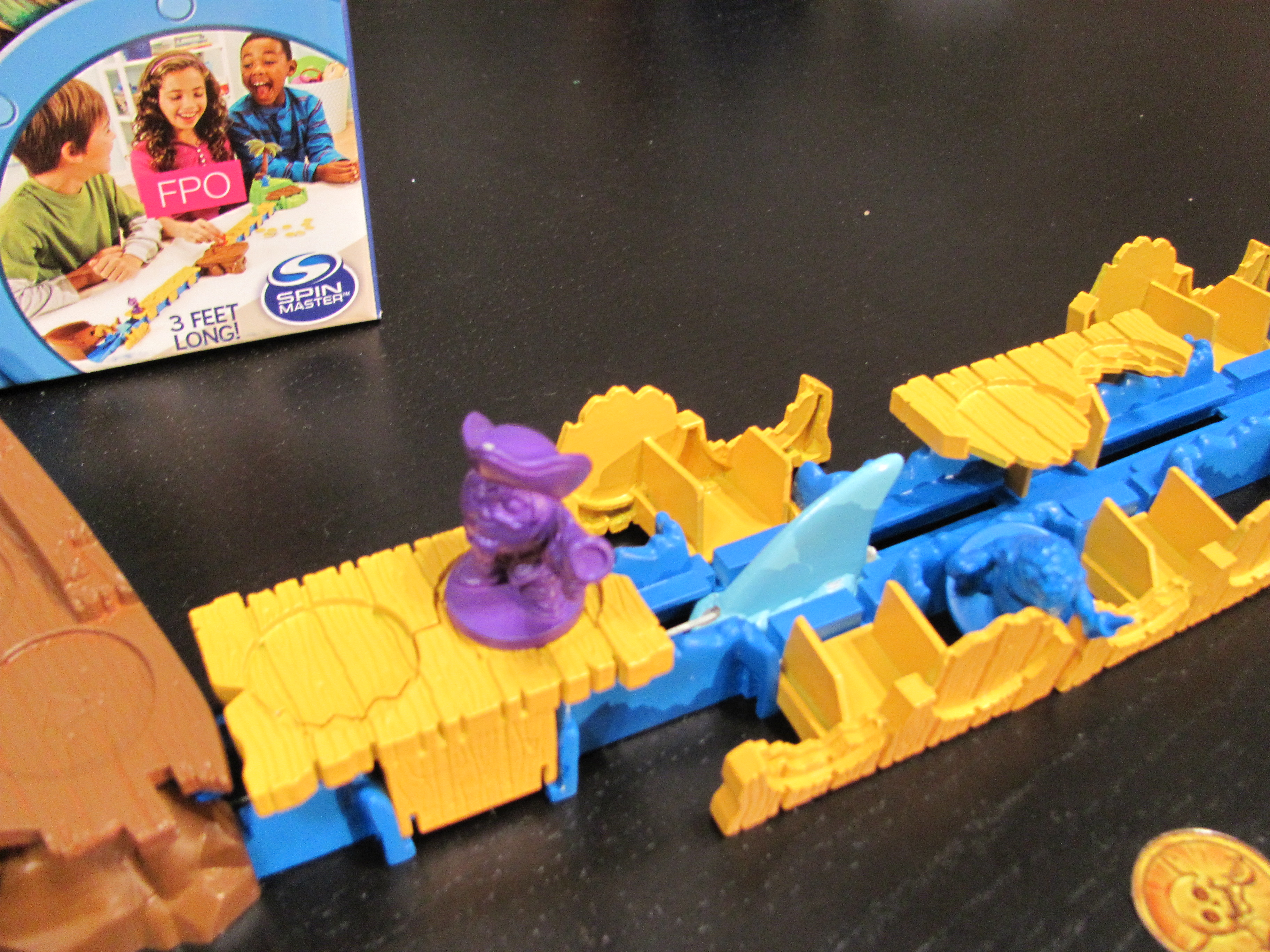 Shark Toys And Games : Toy fair —spin master games purple pawn