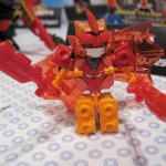 Tenkai Knights Elemental Bravenwolf Mini Figure