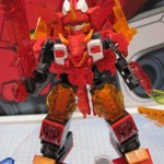 Tenkai Knights Elemental Bravenwolf Titan Figure