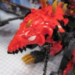 Tenkai Knights Red Dragon Head