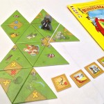 Brendon the Brave with tiles and quest tokens.