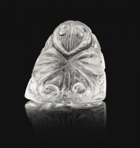 Fatamid Crystal King Chess Piece