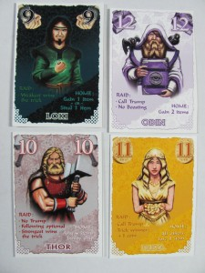 Gone Viking God Cards