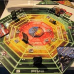 Justice League Axis of Villains Strategy Game Board