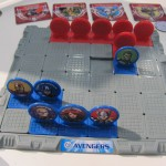 Marvel Avengers Slide Strike Battle Game Closeup