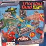 Marvel Ultimate Spider-Man Trickshot Duel Action Game Box