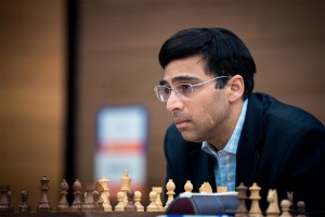 Viswanathan Anand at 2014 FIDE World Candidates Tournament