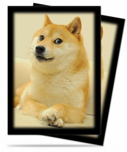 Doge Card Sleeves