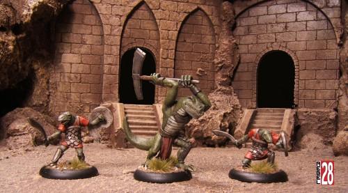 Rebel Minis Lizardmen
