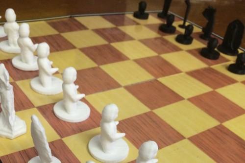 VCU Archaeology Chess Set