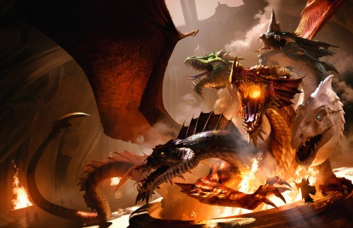 Tyranny of Dragons - Campaign Art - Tiamat