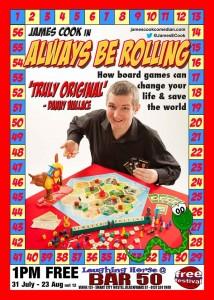 James Cook in Always Be Rolling
