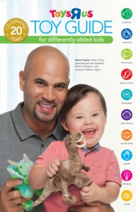 Toys R Us Toy Guide for Differently abled Kids 2014 Cover Albert Pujols