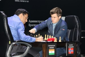 Carlsen vs Anand 2014 WCC Game 11