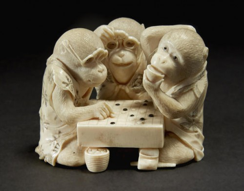 Monkeys Playing Go