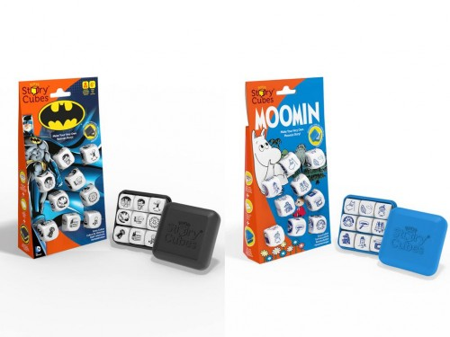 Rory's Story Cubes Batman and Moomin