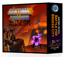Sentinels Tactics: Battle for Broken City