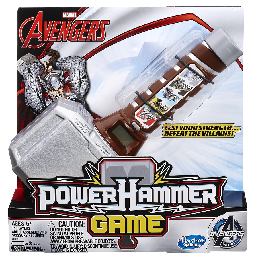 Hammer Game Toy : Toy fair —marvel avengers games purple pawn