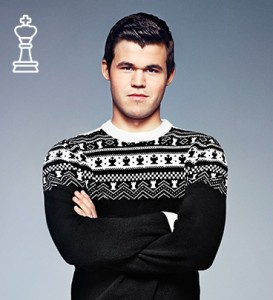 Magnus in Chess Sweater