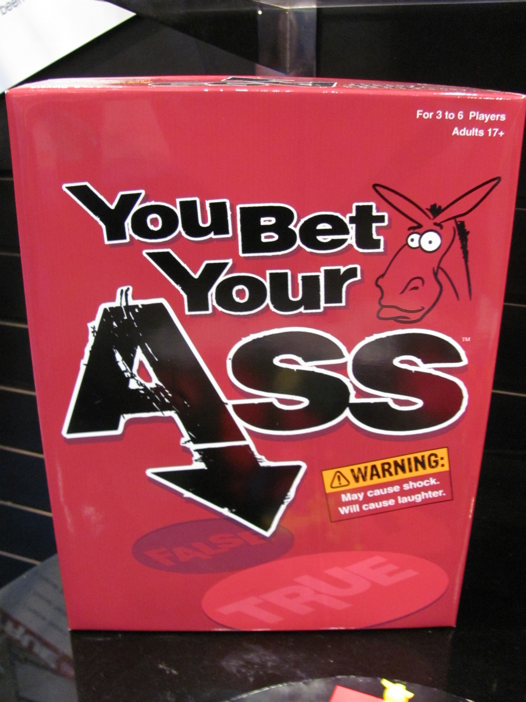 You bet your ass