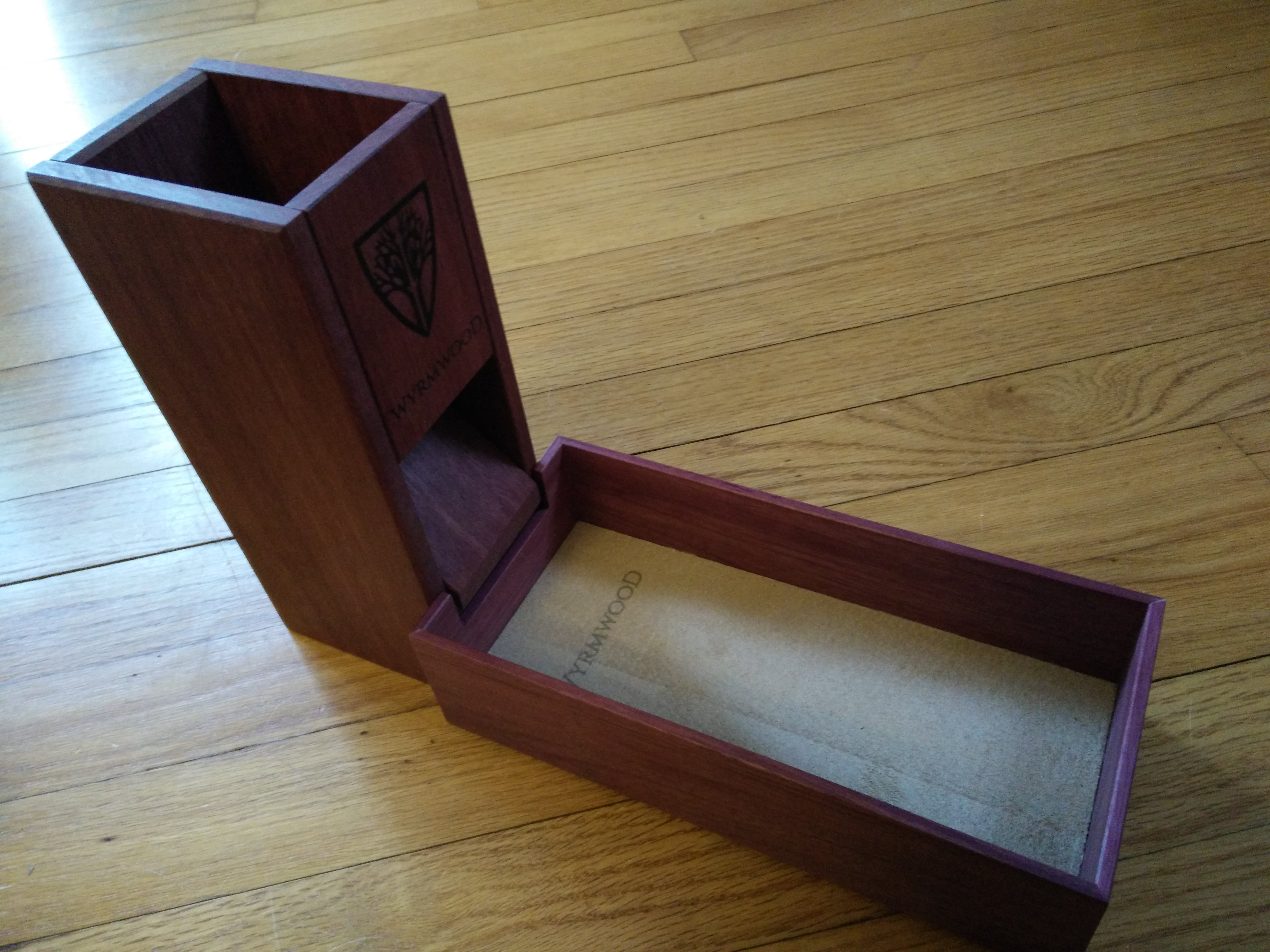 Second Look—Wyrmwood Gaming Dice Tower, Tray, and Dice Vault