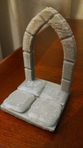 3d printed archway