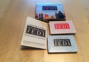 Return of the Jedi Play for Power Card Game