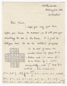 Turing Solitaire Letter
