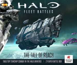 Halo Fleet Battles The Fall of Reach Battle Box