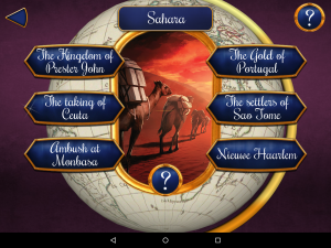 Splendor Android Challenges Menu