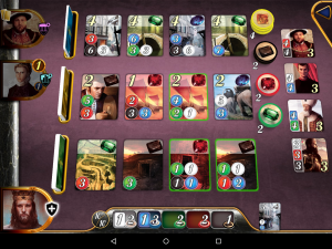 Splendor Android Game in Progress