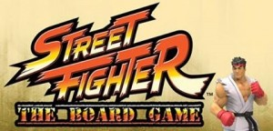 Street Fighter Board Game Banner