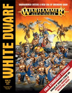 White Dwarf Warhammer Age of Sigmar
