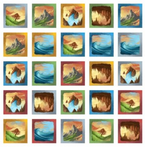 Dingo's Dreams Tiles