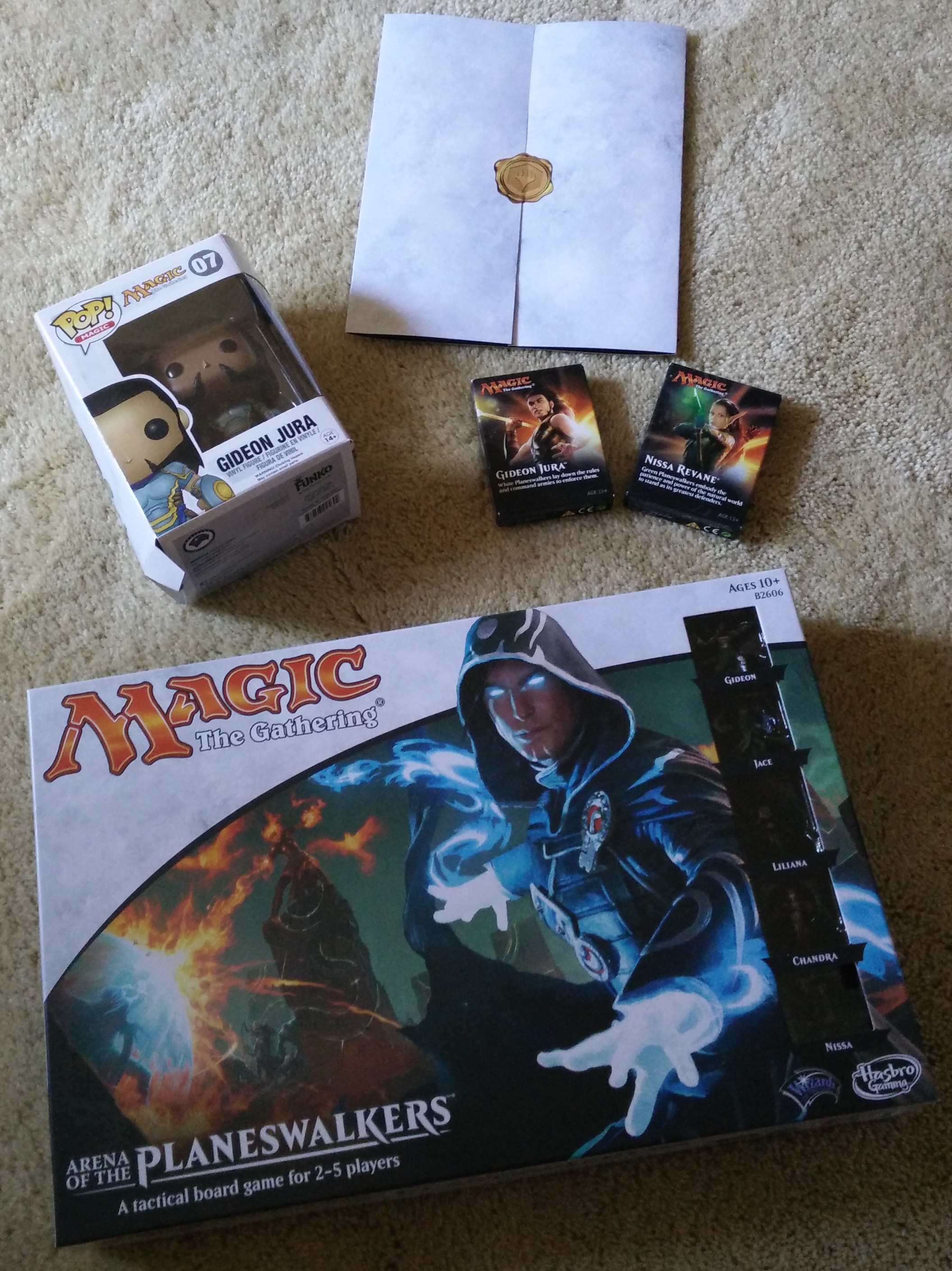 Second Look—Magic: The Gathering – Arena of the ... Planeswalker Arena Expansion