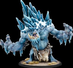 Hordes Trollbloods Glacier King
