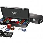 James Bond Luxury Poker Set