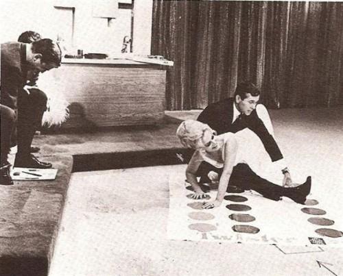 Johnny Carson Eva Gabor Twister