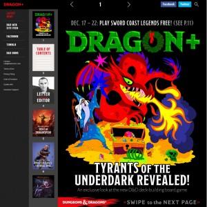 Dragon+ via web