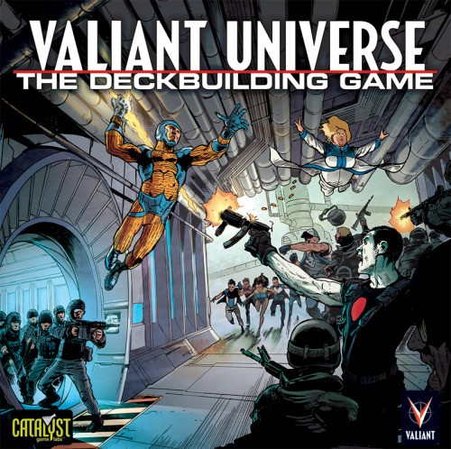 Valiant Universe The Deckbuilding Game