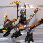 Lego Ninjago Cole's Dragon Closeup