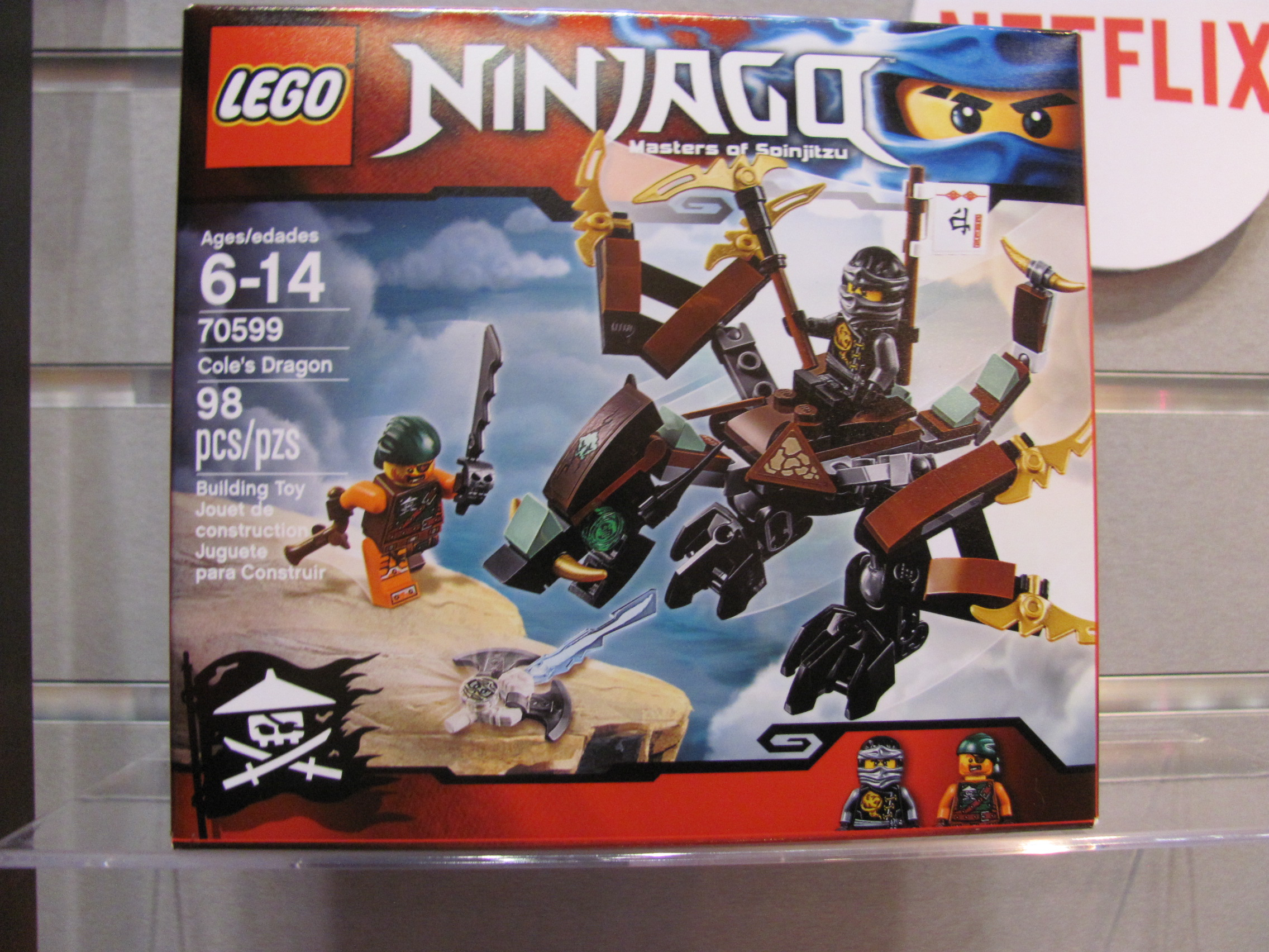 ninjago cole dragon
