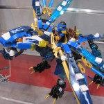 Lego Ninjago Jay's Elemental Dragon Closeup