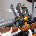Lego Ninjago Raid Zeppelin Closeup