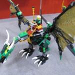 Lego Ninjago The Green NRG Dragon Assembled