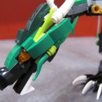 Lego Ninjago The Green NRG Dragon Closeup