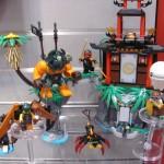 Lego Ninjago Tiger Widow Island Setup