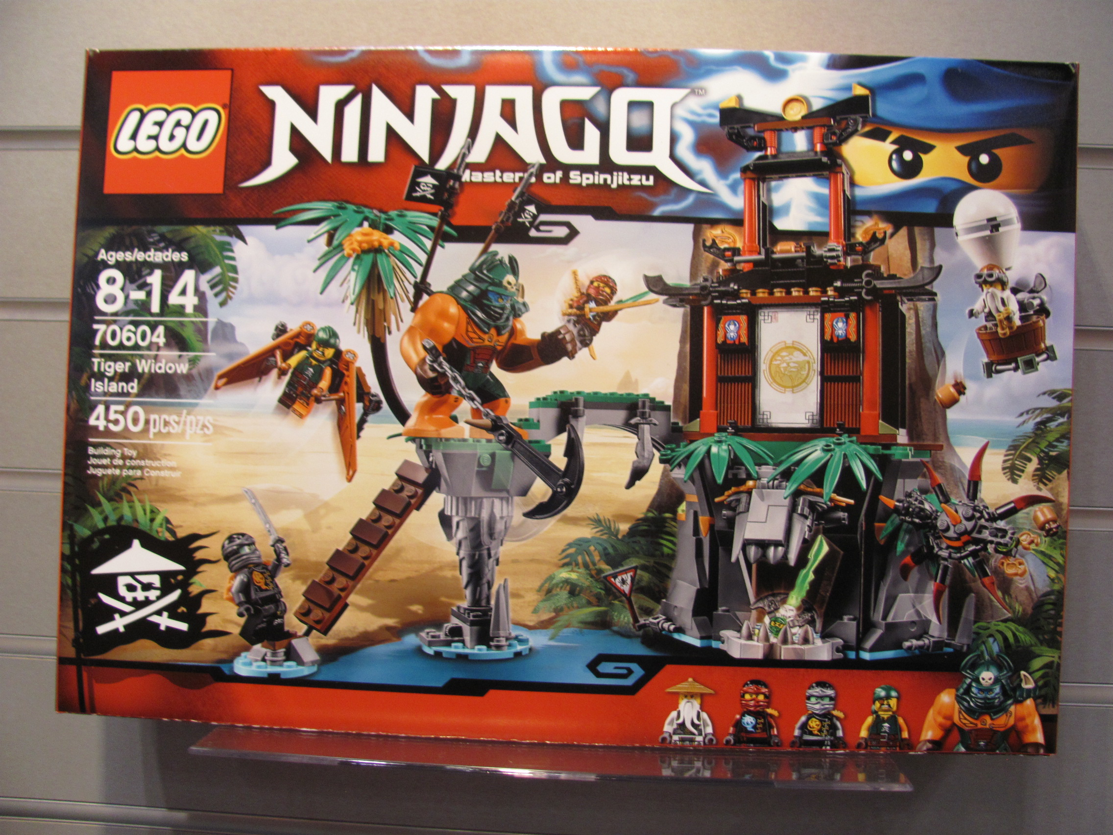 march will also see the release of tiger widow island 50 with an ogre like figure - Lego Ninjago Pirates