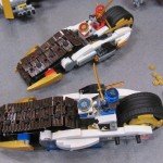 Lego Ninjago Ultra Stealth Raider Sidecars